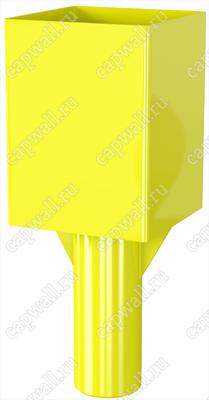 Оголовок(насадка) продувочной свечи DN32 марки ОГСП-1-32-09 из стали 09Г2С