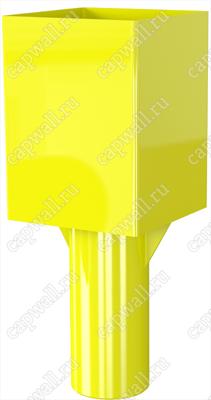 Оголовок(насадка) продувочной свечи DN40  марки ОГСП-1-40-09 из стали 09Г2С
