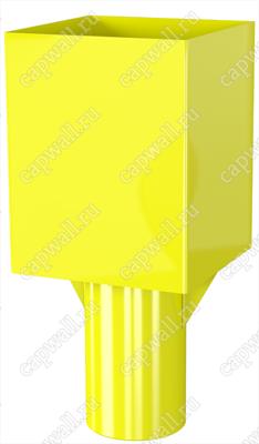 Оголовок(насадка) продувочной свечи DN80 марки ОГСП-1-80-09 из стали 09Г2С