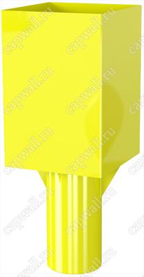 Оголовок(насадка) продувочной свечи DN100 марки ОГСП-1-100-09 из стали 09Г2С - фото 4602