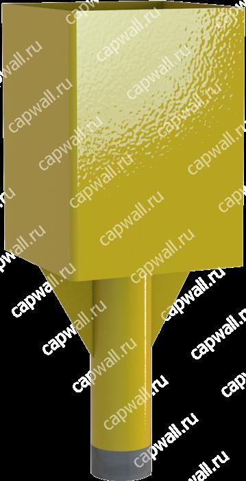 Оголовок(насадка) продувочной свечи DN25 марки ОГСП-1-25-09 из стали 09Г2С - фото 5216