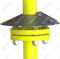 Зонт УГ 10.05-02 Ду50 на газопроводе